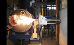 Montáž průmyslových hořáků Kromschröder