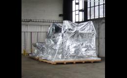 Maschinen und Warenverpackung für Transport, Transportverpackung, Exportverpackung, Tschechische Republik