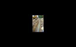 Opravy stávajících vodovodních řádů