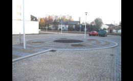 Rekonstrukce komunikací a náměstí