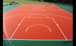 Bergo – sportovní povrch pro míčové hry