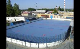 Bergo – povrch pro in-line bruslení a míčové sporty