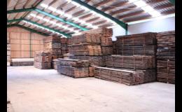 Skladovací prostory pro dřevo