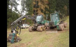 Těžba dřeva Pila Hartman