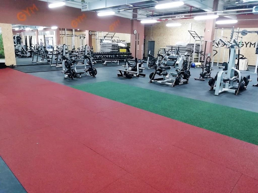 NOKO Servis s.r.o. Podlahy pro fitness, gumová dlažba