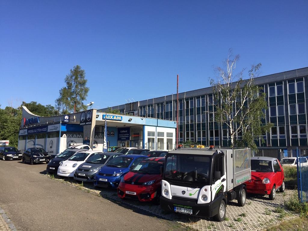 Nabídka nových aut AIXAM, MEGA pro 15leté i seniory