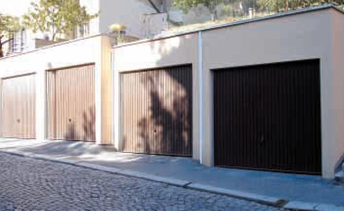 Řadové garáže Praha