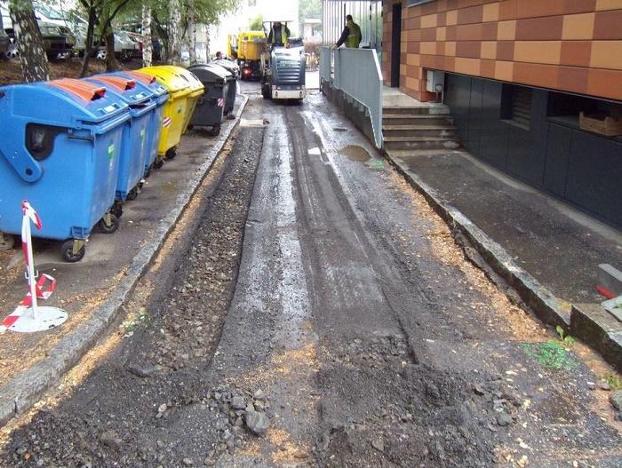 Oprava dešťové kanalizace