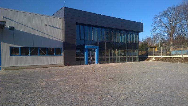 Dokončení novostavby prodejního skladu fy HABERKORN ULMER s.r.o.