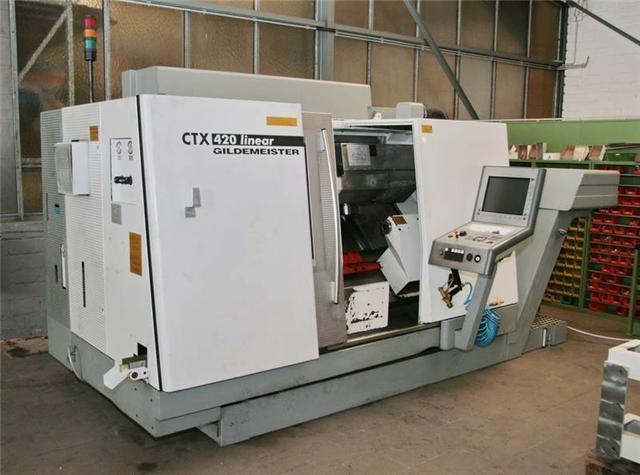 Strojní výroba - CNC soustruh Gildemeister CTX 420