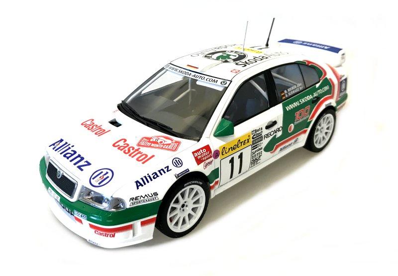 Škoda Octavia WRC Evo2 n. 11 4th Rally Monte Carlo 2001