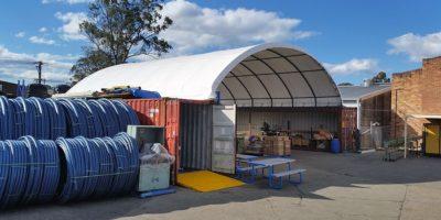 montované haly a garáže