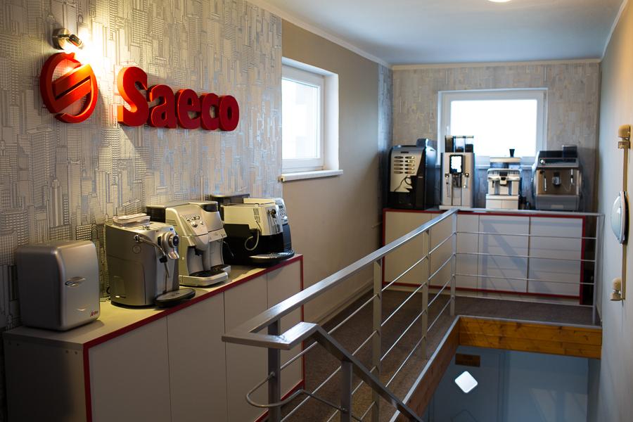 profesionální a kancelářské kávovary