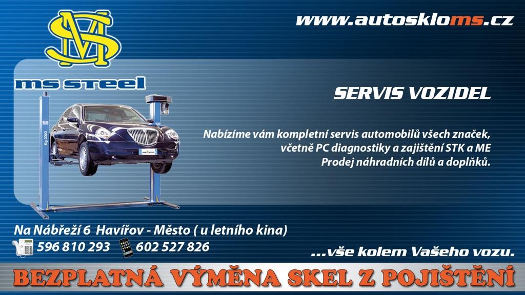 servis vozidel