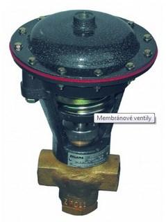 Membránové ventily