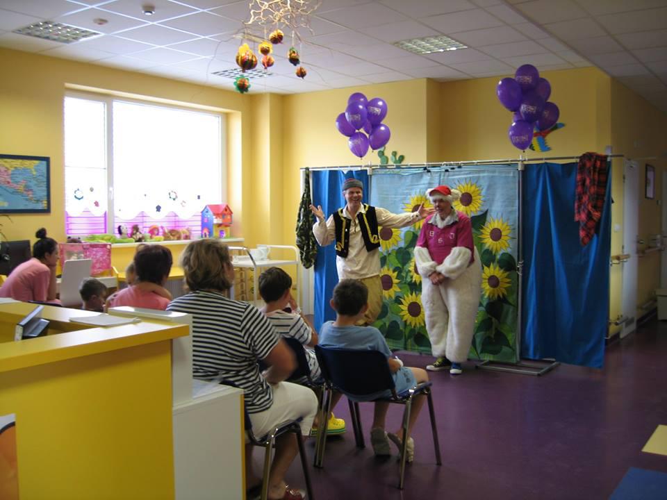Prohram pro děti v kolínské nemocnici