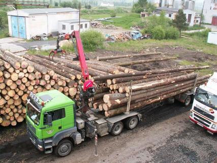 Přeprava dřevní hmoty