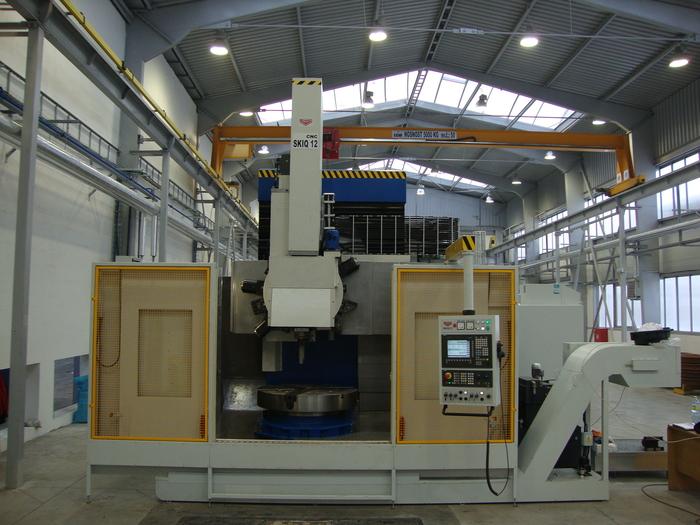 Strojní výroba - CNC soustruh svislý stavebnicový SKIQ 12