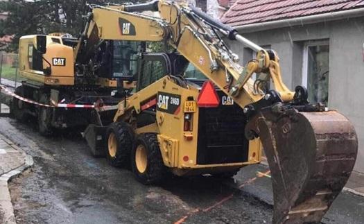 Úprava asfaltu