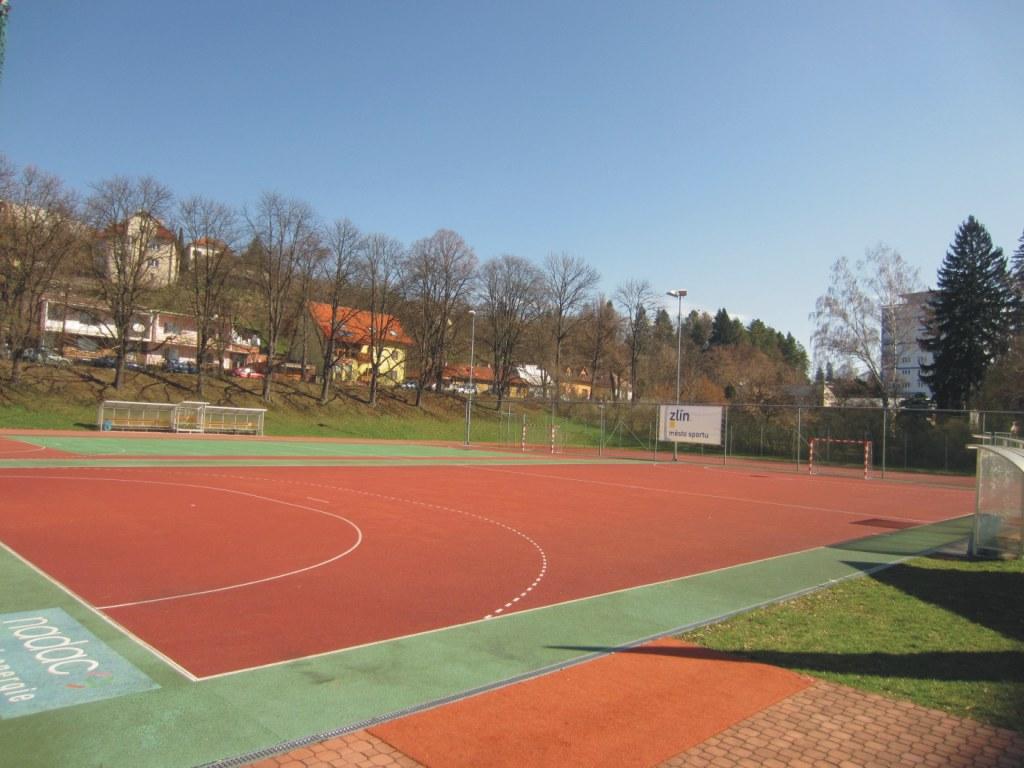 Areál sportovní haly Euronics Zlín