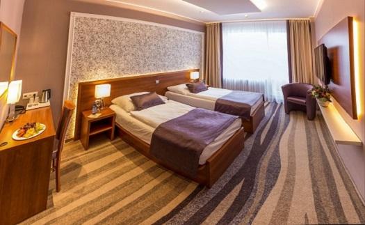 Ubytování v hotelu nedaleko centra města Brno