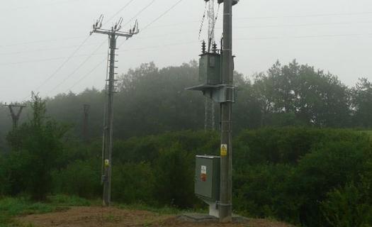 Nadzemní kabelová vedení