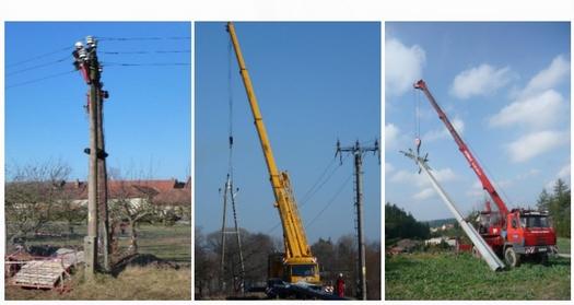 Nadzemní a kabelová vedení