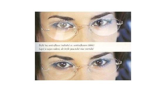 Brýlové čočky - skla - multifokální, bifokální, jednoohniskové s antireflexní úpravou