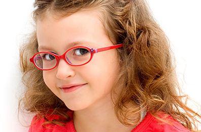 Dětské brýlové čočky a obruby