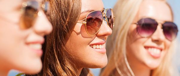 sluneční brýle, dioptrické čočky