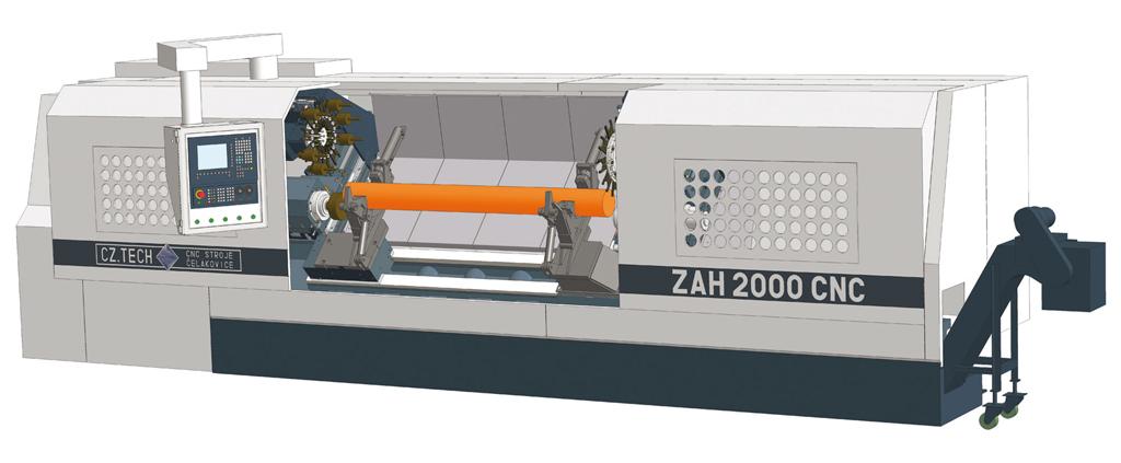 CNC zarovnávací, frézovací a vrtací stroje
