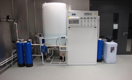Prodej a servis přístrojů na úpravu vody - úpravna čisté vody.