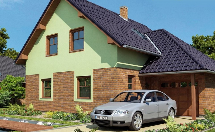 Typový dům Krel
