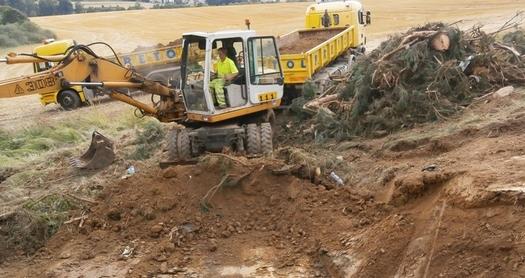 Stavební, zemní práce a demolice