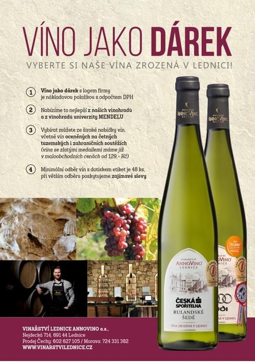 Vip dárek - firemní vína