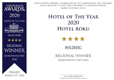 Hotel roku Czech Hotel Awards 2020