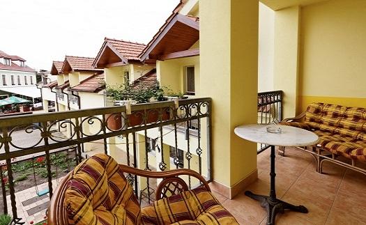 Pokoje s vlastním balkonem