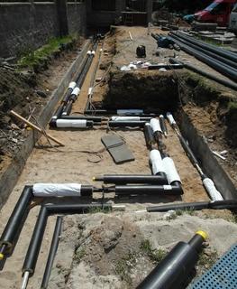 Vodoinstalace, kanalizace
