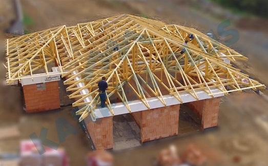 Konstrukce krovů a spolehlivá výroba střech