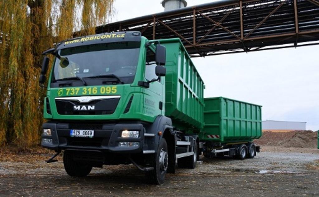 kontejnerová autodoprava - odvoz odpadu