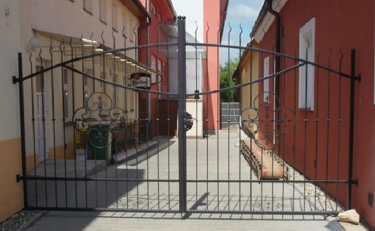 kované brány Zlínský kraj