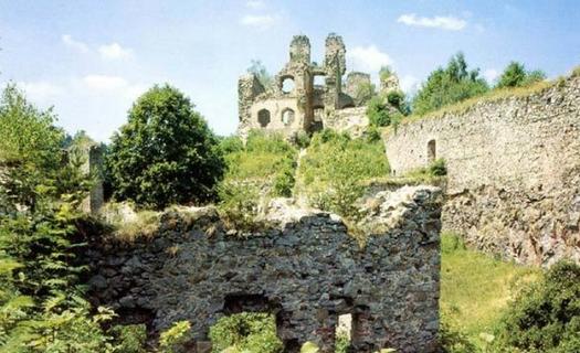 Dívčí kámen - zříceniny hradu