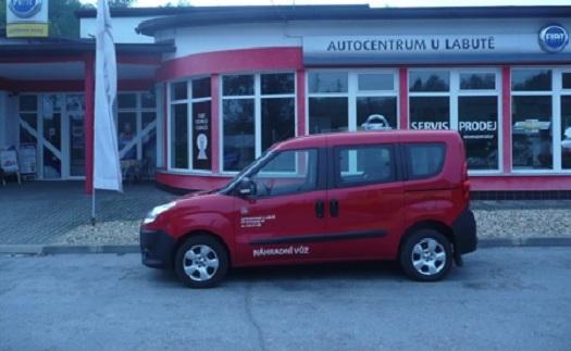 Prodej a půjčovna aut, Blansko