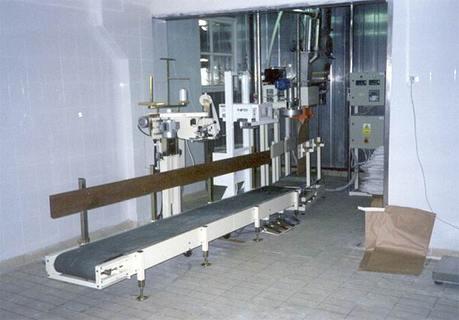 Linka je určena pro balení sušeného mléka