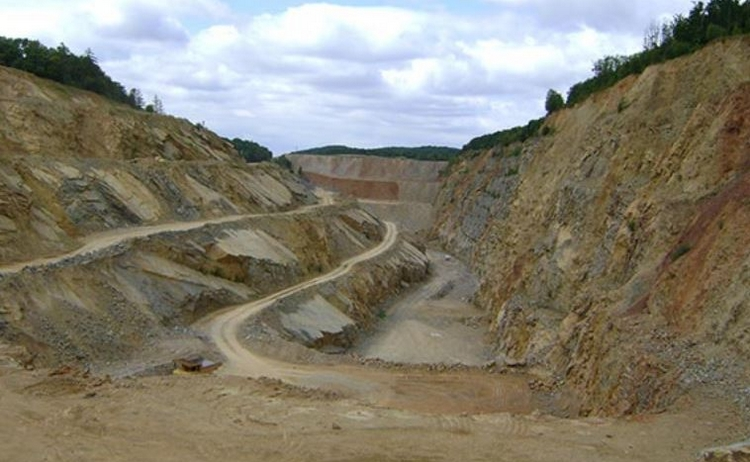 Těžba vápence