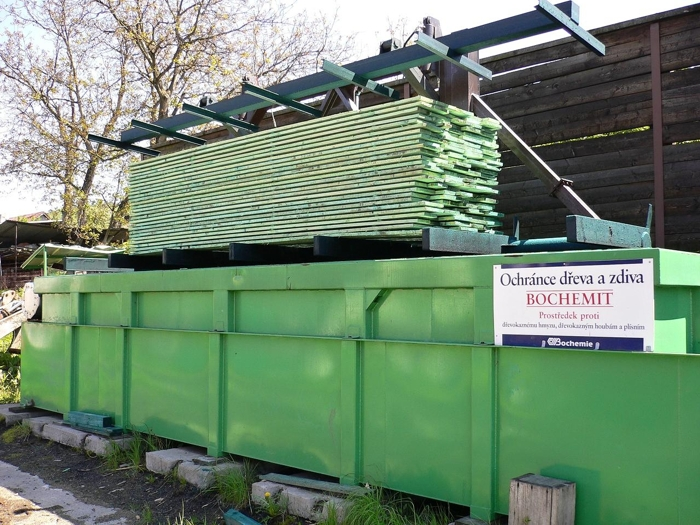 impregnace dřeva namáčením - BOCHEMIT QB