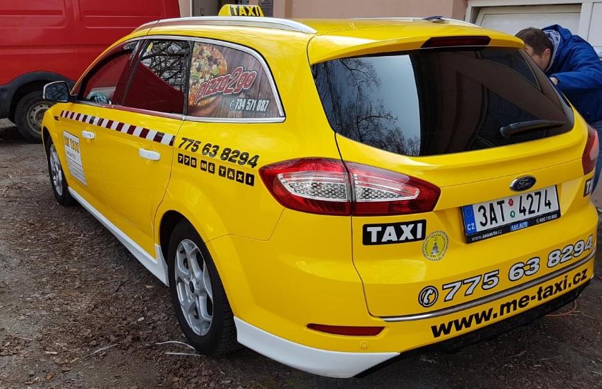 Přeprava osob, taxislužba