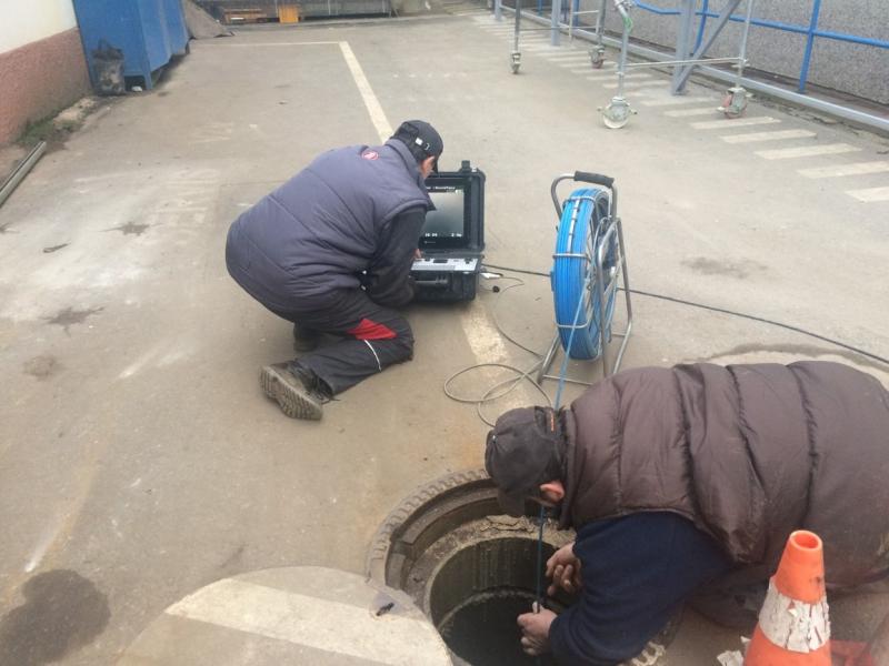 Čištění a monitoring kanalizace