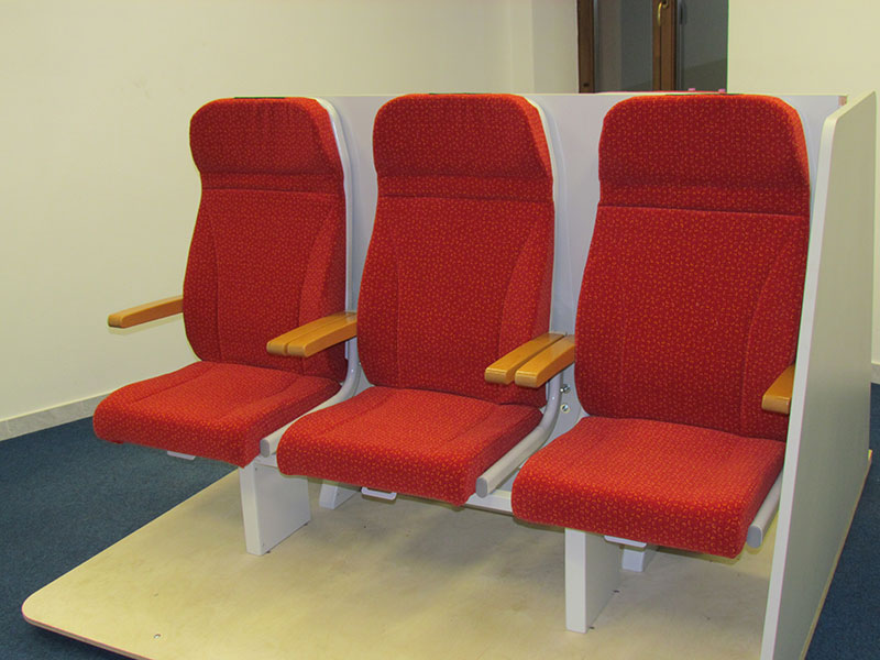 Sedadla pro regionální dopravu