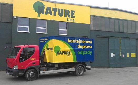 Nature, s.r.o. Sber, svoz a likvidace odpadu Prostejov